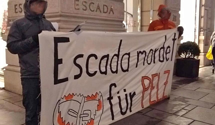 Winteraktionstage gegen ESCADAs Pelzhandel