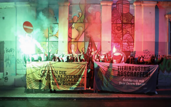 Solidarität mit Tear Down Tönnies